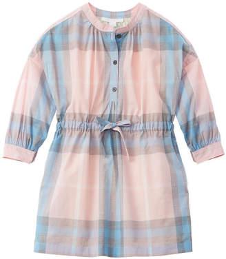 Burberry Checked A-Line Dress