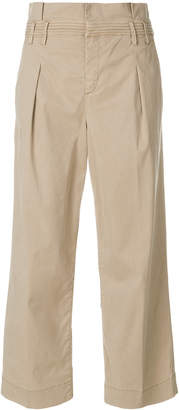 Jacob Cohen cropped straight leg trousers