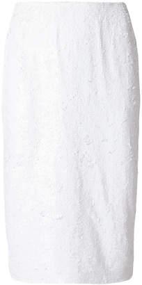 P.A.R.O.S.H. sequin embellished tube skirt