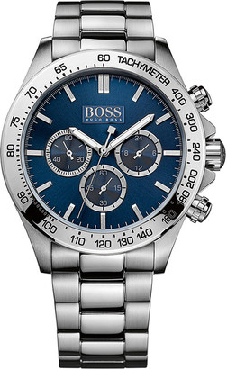 HUGO BOSS 1512963 ikon stainless steel watch $395 thestylecure.com