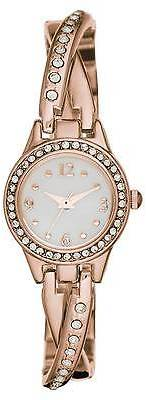Merona; Women's Merona; Twist Half - Bangle Watch with Mother of Pearl Dial - Ro... $19.99 thestylecure.com