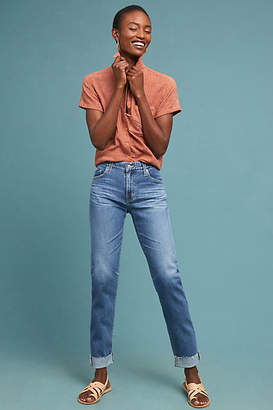 AG Jeans The Ex-Boyfriend Mid-Rise Cropped Jeans
