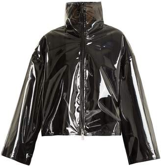 Valentino Translucent zip-through jacket