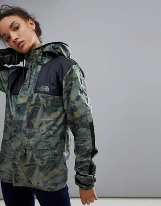 The North Face 1985 Seasonal Celebration Mountain Jacket In Camo