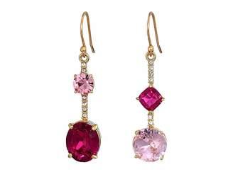 Kate Spade Bright Ideas Linear Asymmetrical Drop Earrings