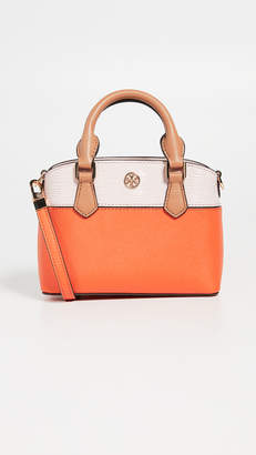 Tory Burch Robinson Colorblock Top Handle Mini Bag