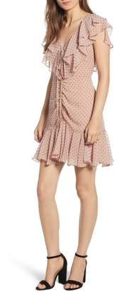 WAYF Danni Ruffle Mini Dress