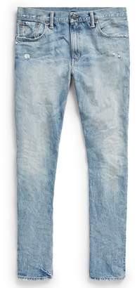 Ralph Lauren Slim Narrow Distressed Jean
