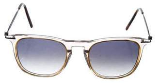 Tomas Maier Square Gradient Sunglasses