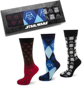 Cufflinks Inc. Cufflinks, Inc. 'Star Wars' Darth Vader & Stormtrooper 3-Pack Socks