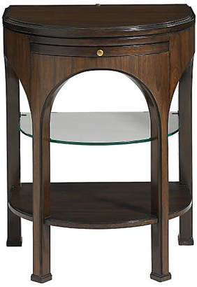One Kings Lane Adriana Pullout Side Table - Tobacco