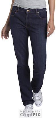 Dickies Perfect Shape Straight Stretch Denim Jean