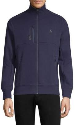 Polo Ralph Lauren Double-Knit Tech Track Jacket