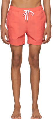 Onia Orange Charles Swim Shorts