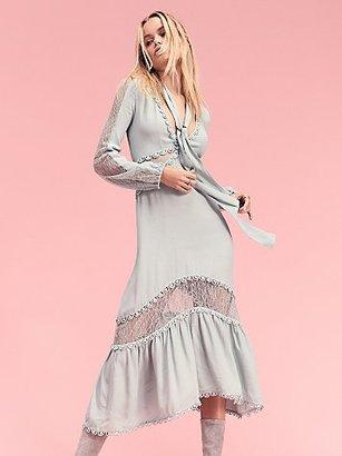 Lilou Midi Dress by For Love & Lemons $250 thestylecure.com