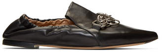 Chloé Black Reese Slip-On Loafers