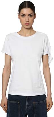 J.W.Anderson Knotted Cotton Jersey T-Shirt