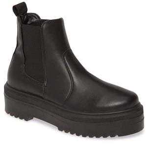 Steve Madden Yardley Platform Chelsea Boot