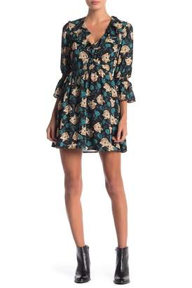 Anama Woven Floral Dress