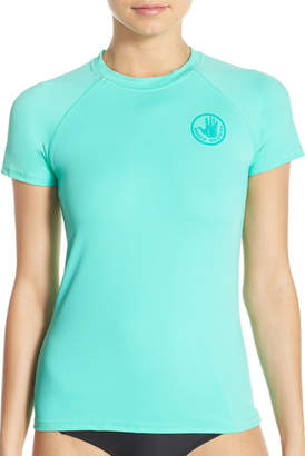 Body Glove Smoothies in Motion Short Sleeve Rashguard $42 thestylecure.com