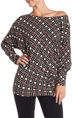 Tart Geometric Long Sleeve Shirt