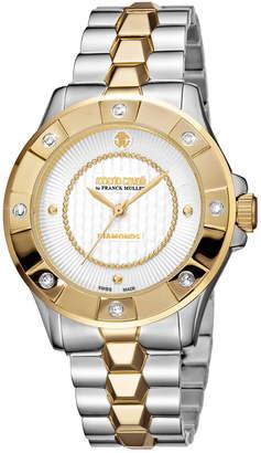 Roberto Cavalli Women's Stainless Steel Diamond Watch