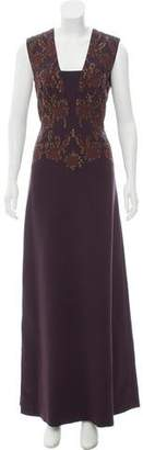 Tory Burch Embellished Evening Dress