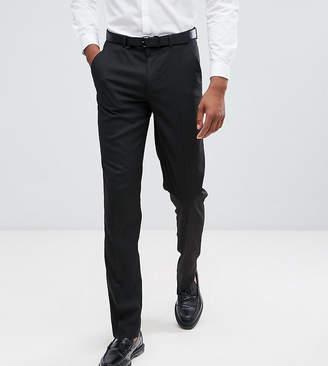 Asos Design DESIGN Tall slim suit pants in black