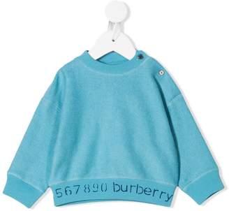Burberry shoulder button sweatshirt