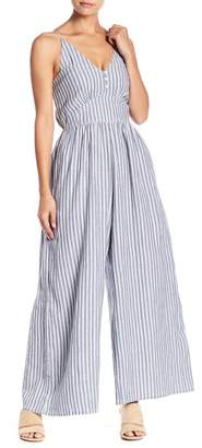 Love Sam Else Striped Jumpsuit