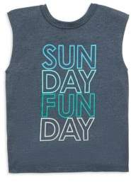 Chaser Toddler's, Little Boy's& Boy's Sunday Funday Tank Top
