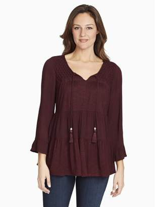 Gloria Vanderbilt Women's Jeanne Top