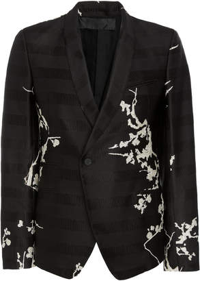 Haider Ackermann Printed Single-Button Blazer