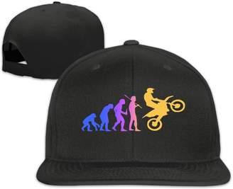 f0ac693f384 HVD KFRE Evolution Motocross Funny Dirtbike Plain Adjustable Snapback Hats  Caps Flat Bill Visor Classic Flat