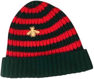 Gucci Green Wool Hats
