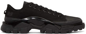 Raf Simons Black adidas Originals Edition Detroit Runner Sneakers