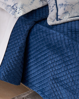 Sherry Kline Home Imperial Quilted Velvet 3-Piece Queen Coverlet Set