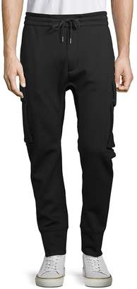 Helmut Lang Men's Curved Leg Cargo Pants