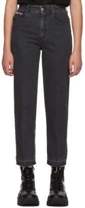 Stella McCartney Black Vintage Cropped Jeans