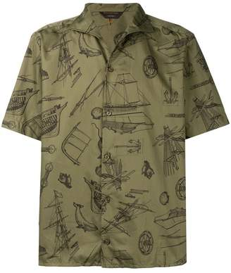 Ermenegildo Zegna sketch print shirt