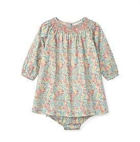 Polo Ralph Lauren Smocked Floral Cotton Dress(6-24 Months)