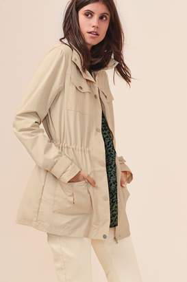 Next Womens Champagne Utility Jacket - Natural