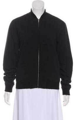Alexander Wang Textured Casual Bomber Jacket