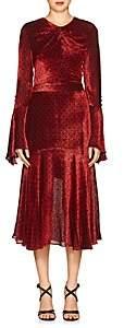 Prabal Gurung WOMEN'S DEVORÉ VELVET DRESS