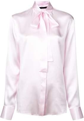 Haider Ackermann pussy bow blouse