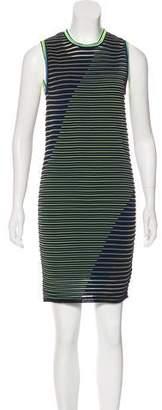 Alexander Wang Textured Striped Dress