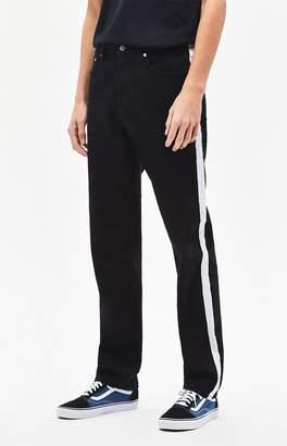 WeSC Bob Side Stripe Straight Leg Jeans
