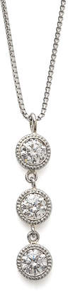 Classic Jewels ミニ鑑別書付 PT900x850 ダイヤモンド 0.20ct 3ストーンネックレス プラチナ
