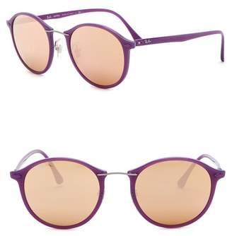 Ray-Ban Light Ray 49mm Round Sunglasses