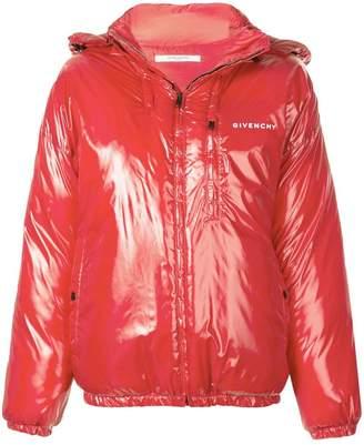 Givenchy short puffer jacket